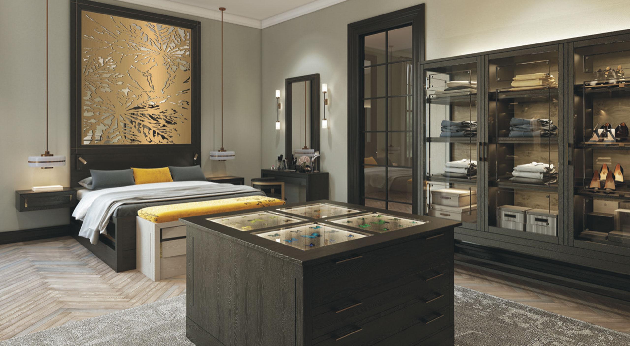 Bespoke bedroom furniture by smallbone