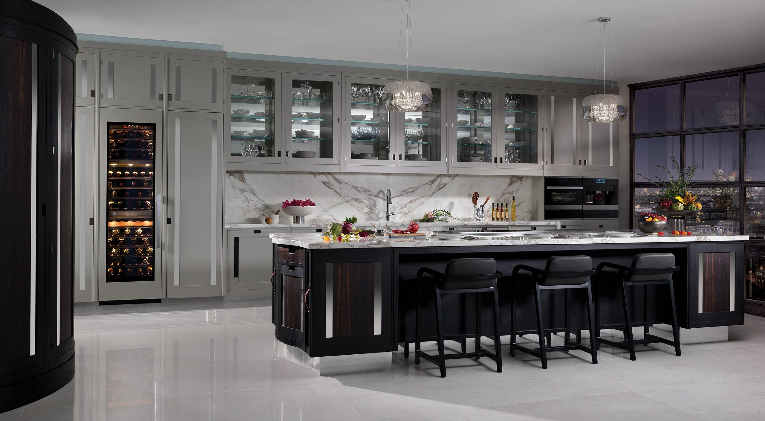 Smallbone Macassar Bespoke Kitchen Design