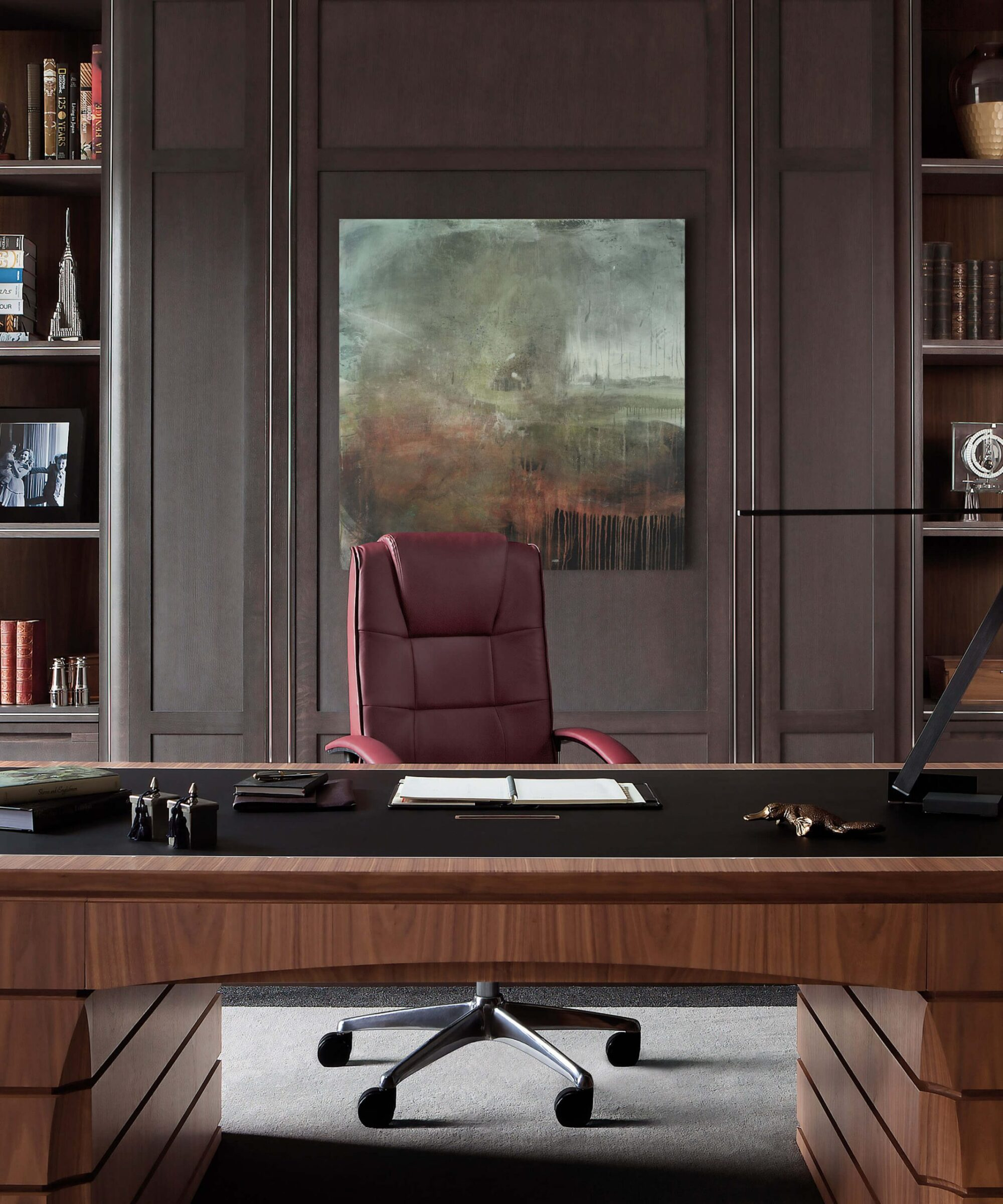 Smallbone Bespoke Study Furniture and Desk