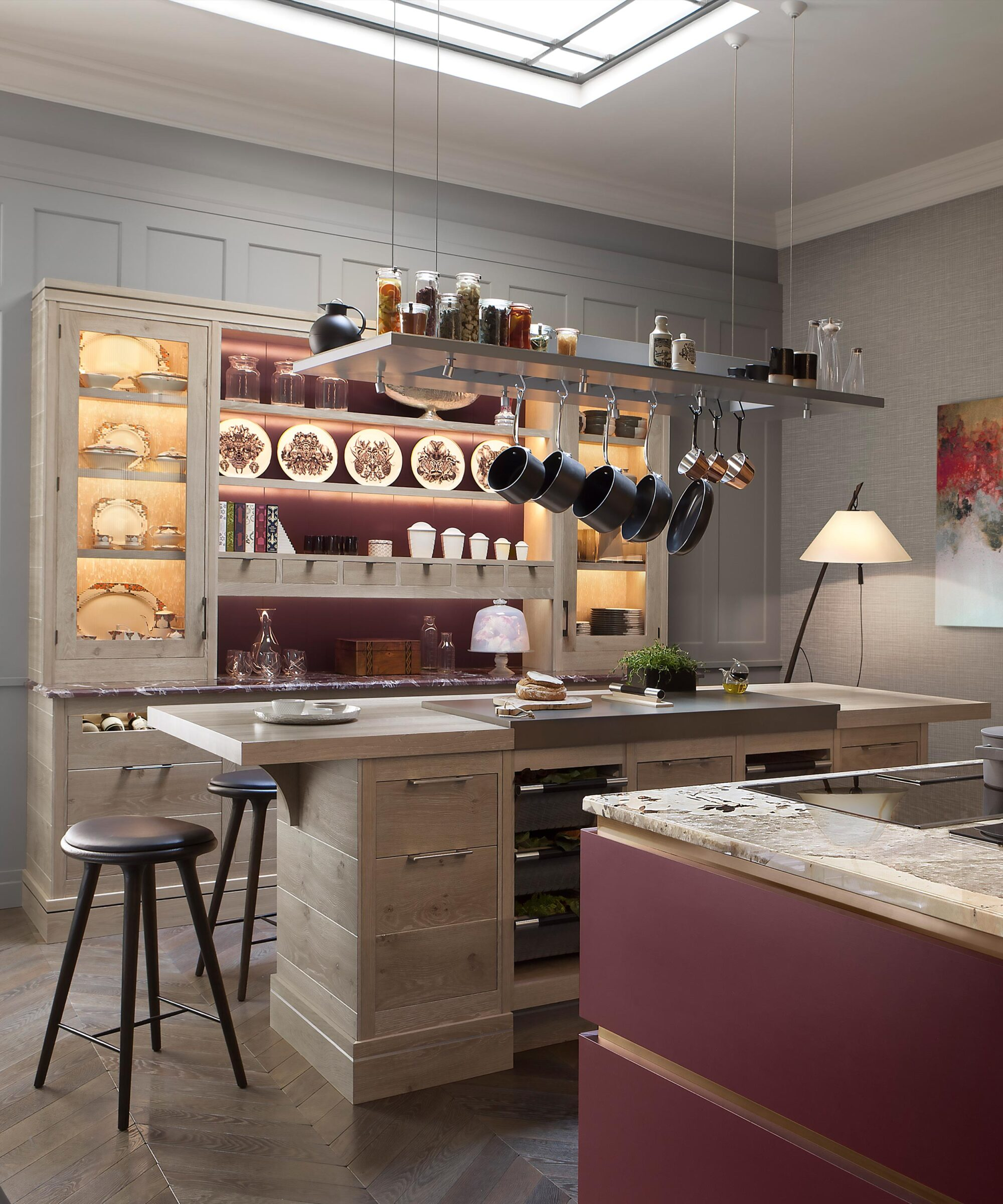 Brasserie Bespoke Kitchen Design by Smallbone