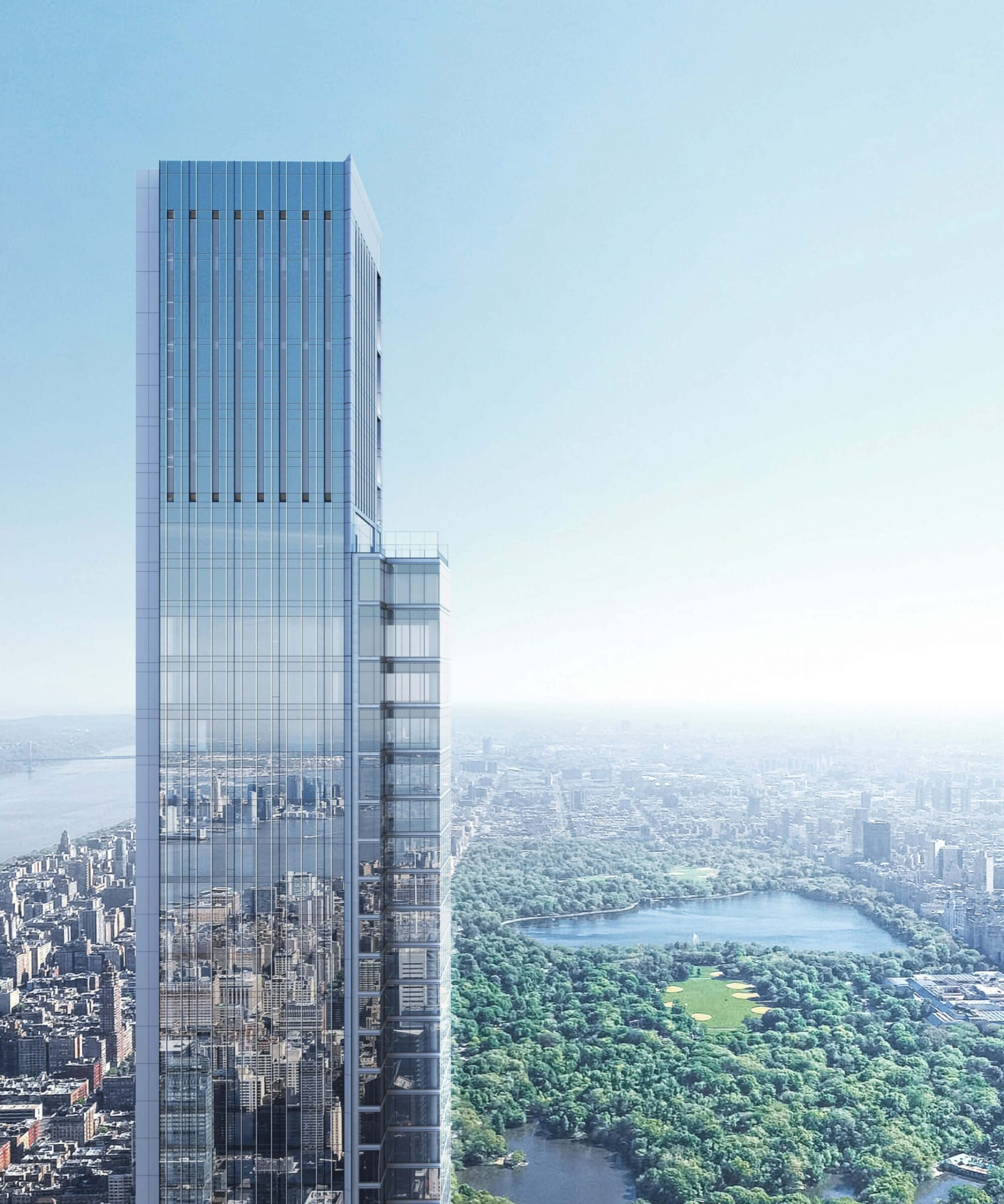 Residential Design Project by Smallbone for the Central Park Tower in New York