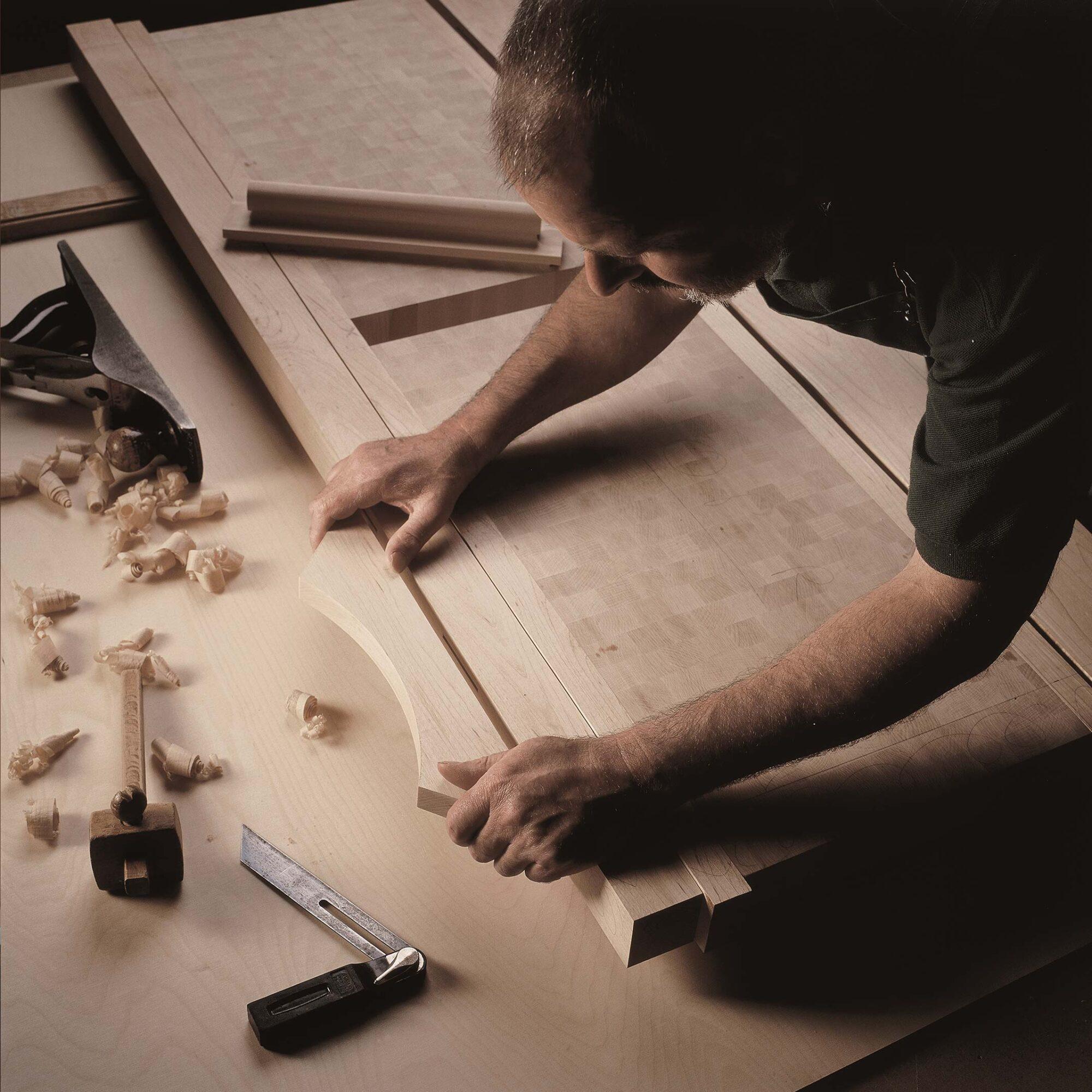 a Smallbone craftsman at work