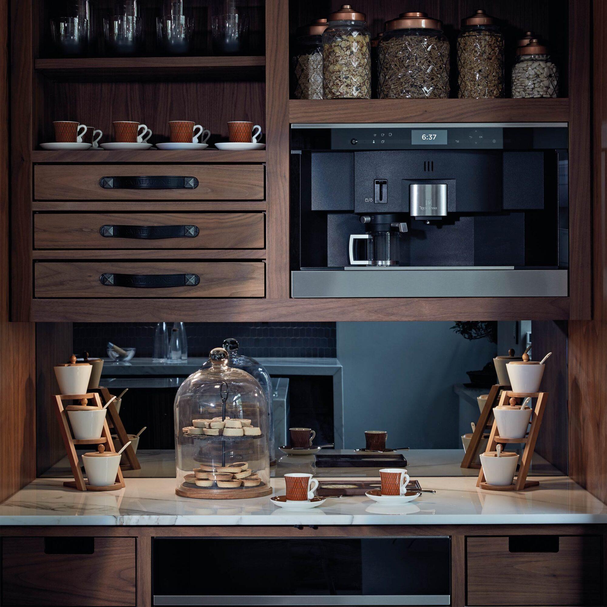 A Smallbone Mulberry design kitchen cupboard