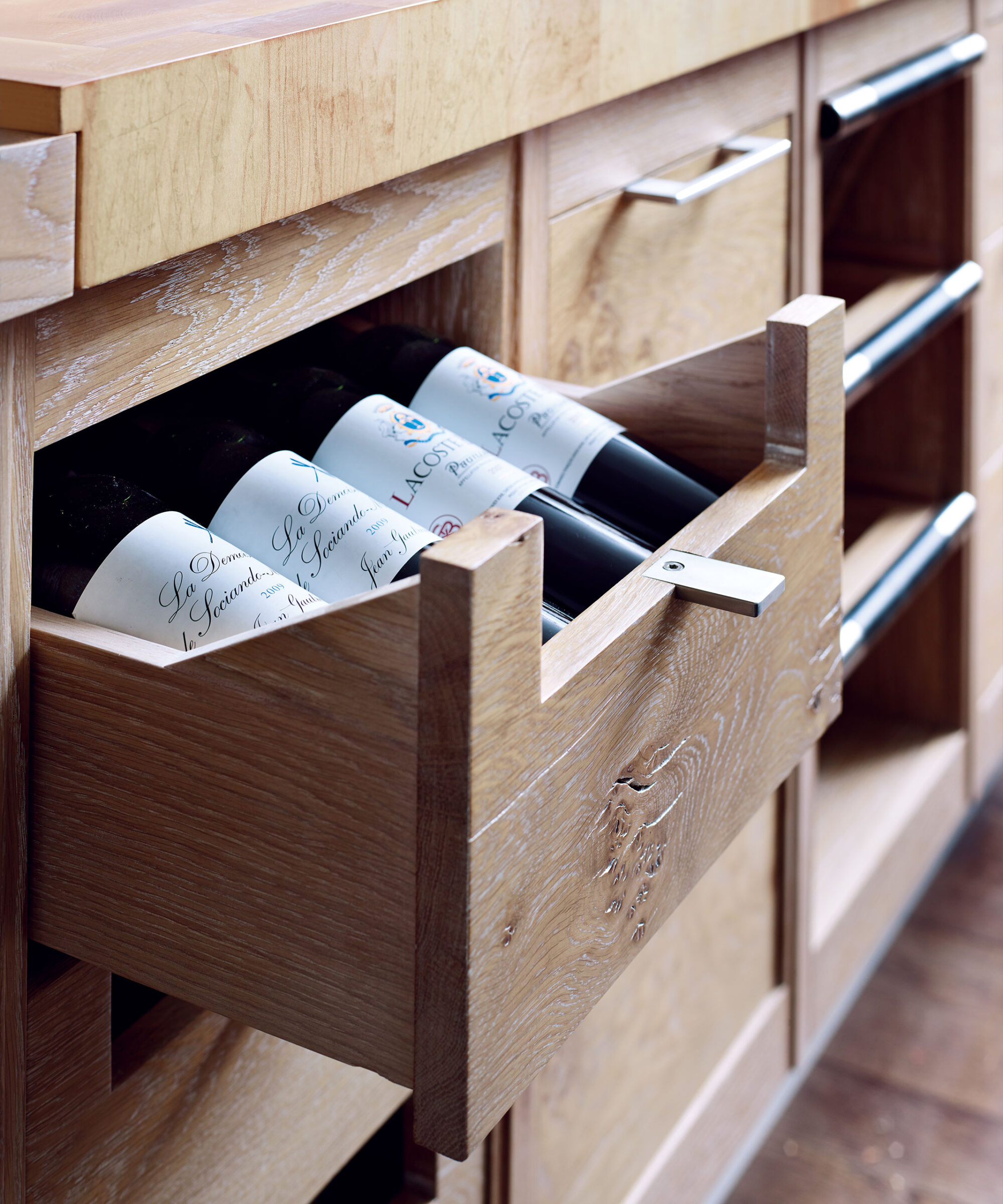 A bespoke Brasserie collection wine draw