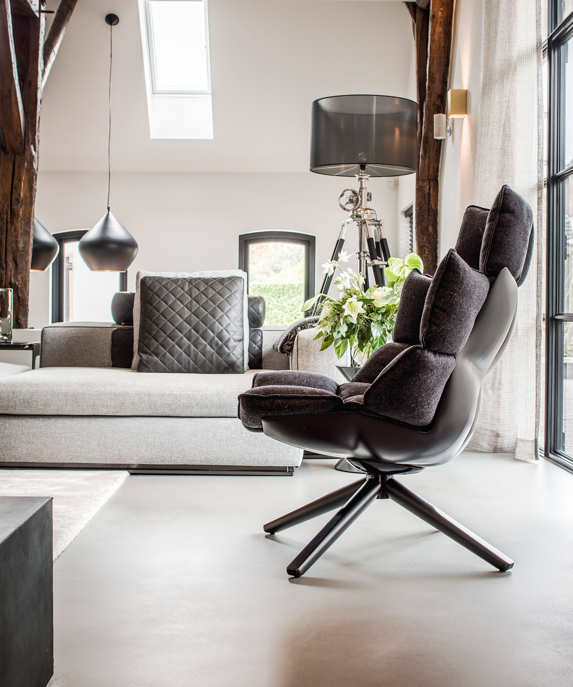 A light grey Senso floor
