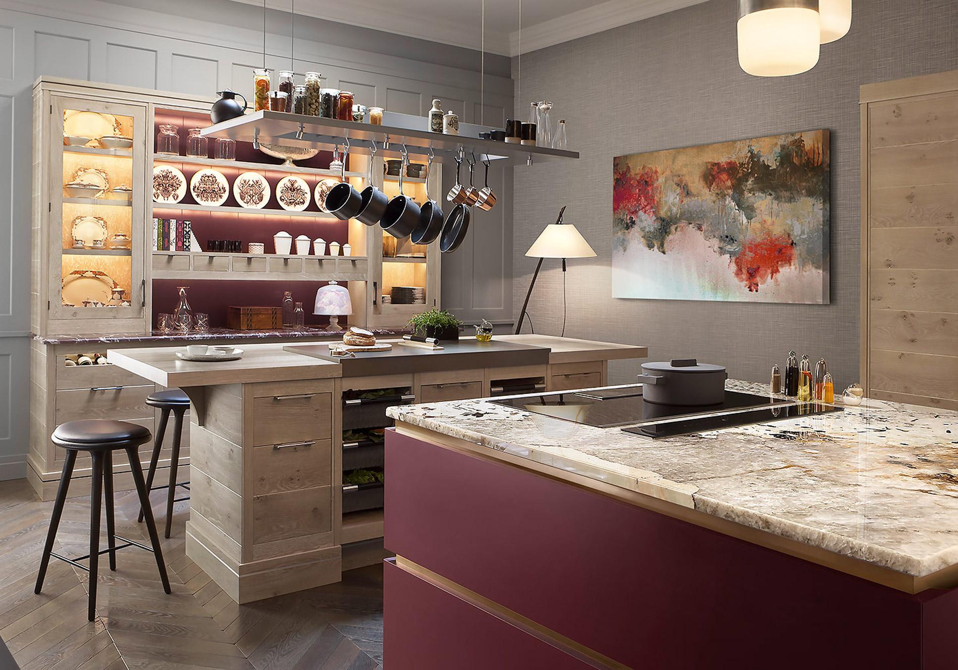 Brasserie kitchen by Smallbone