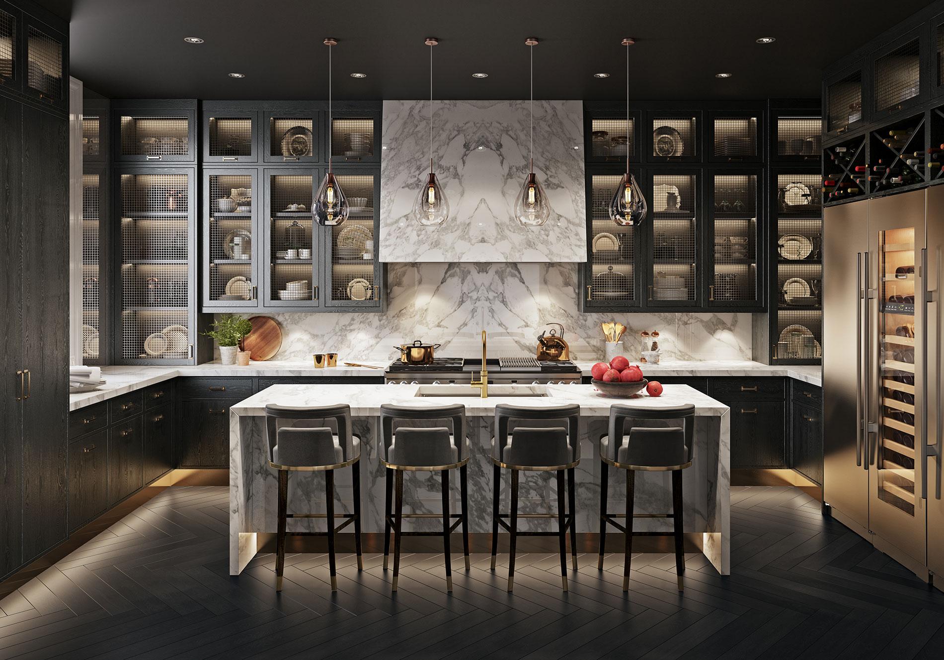 A Smallbone Mulberry kitchen