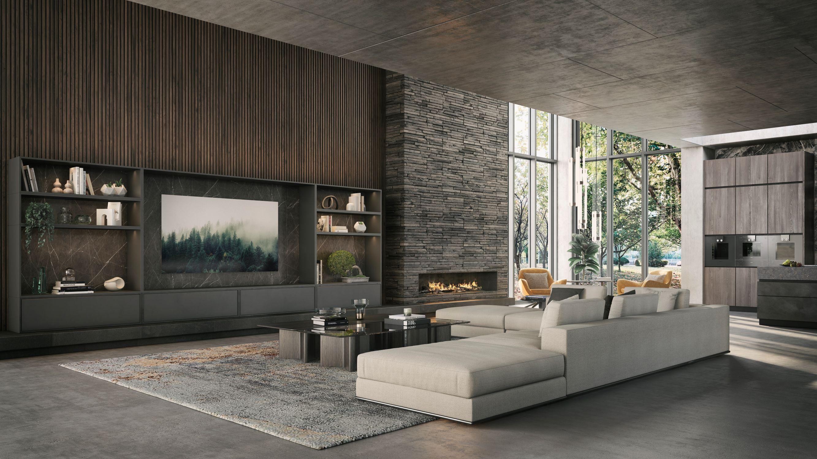 Modernist Interior Lounge
